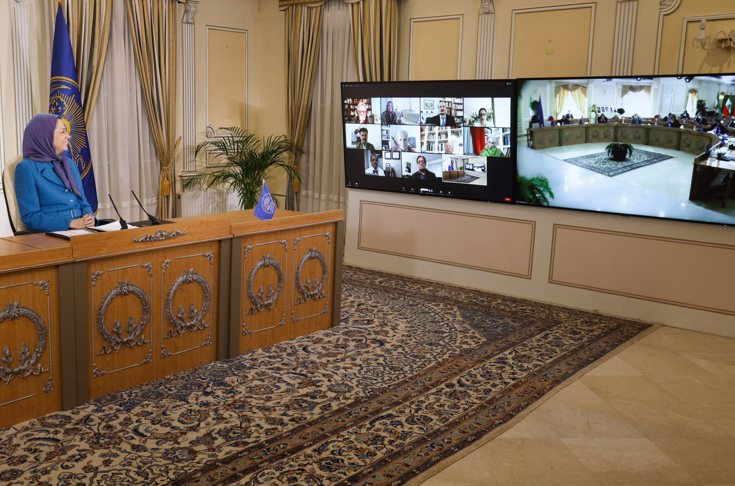 Interim Session of the National Council of Resistance of Iran-March 31, 2021