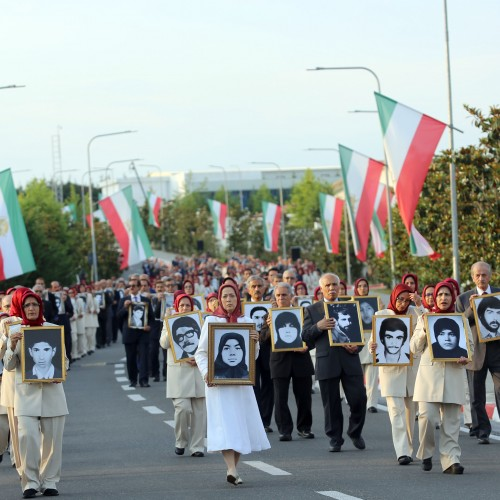 Maryam Rajavi at the 40th anniversary of the nationwide resistance against the Iranian regime- June 20, 2021