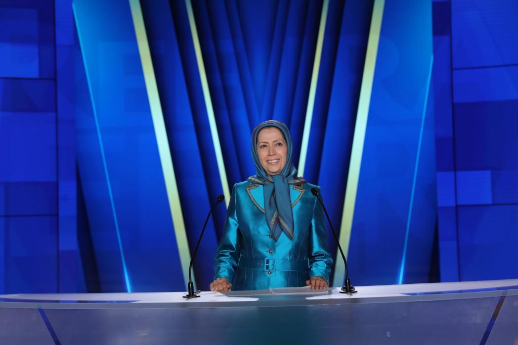 Maryam Rajavi addresses the second day of the Free Iran World Summit