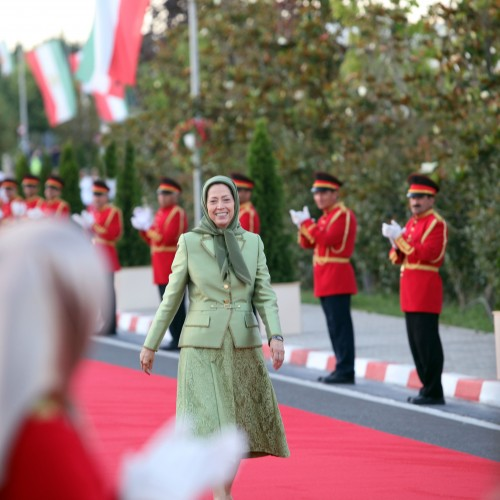 Maryam Rajavi at the first Free Iran World Summit - The Democratic Alternative on the March to Victory- July 10, 2021
