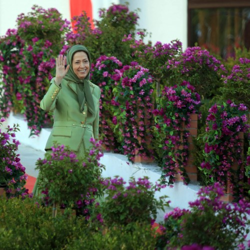 Maryam Rajavi at the first Free Iran World Summit – The Democratic Alternative on the March to Victory- July 10, 2021