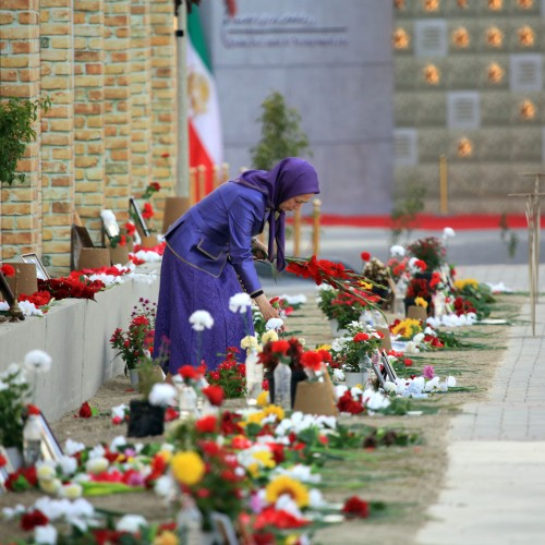 Maryam Rajavi at the third day of the Free Iran World Summit - Global Support for Iranian People's uprising and Democratic Alternative
