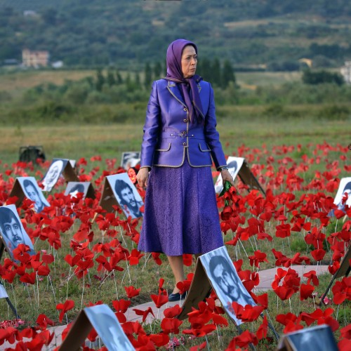 Maryam Rajavi at the third day of the Free Iran World Summit – Global Support for Iranian People's uprising and Democratic Alternative – July 12, 2021
