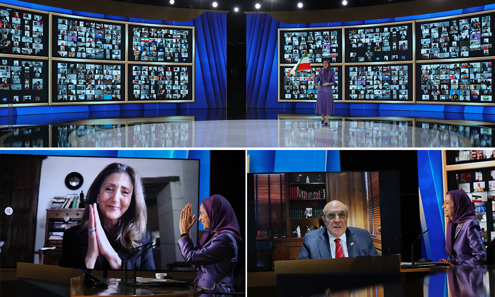 Maryam Rajavi: This is a litmus test of whether the international community will engage and deal with this genocidal regime or stand with the Iranian people