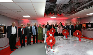 Maryam Rajavi and a delegation of Syrian opposition officials and dignitaries visited the Heroic Aleppo Exhibition