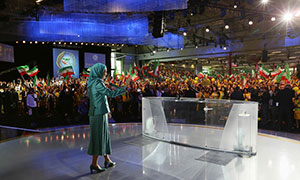 The Free Iran Grand Gathering was held with Iranians and supporters of the Iranian Resistance from around the world gathering in Paris