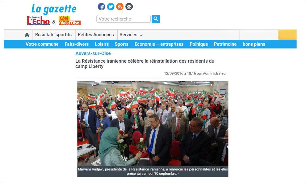 Auvers-sur-OiseLa Résistance iranienne célèbre la réinstallation des résidents du camp Liberty
