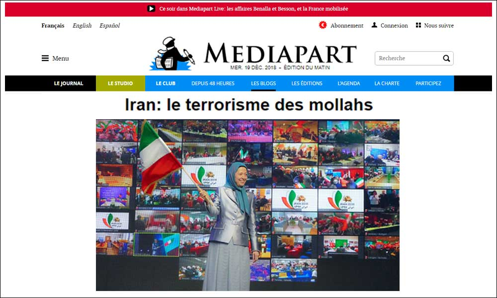 Iran: le terrorisme des mollahs