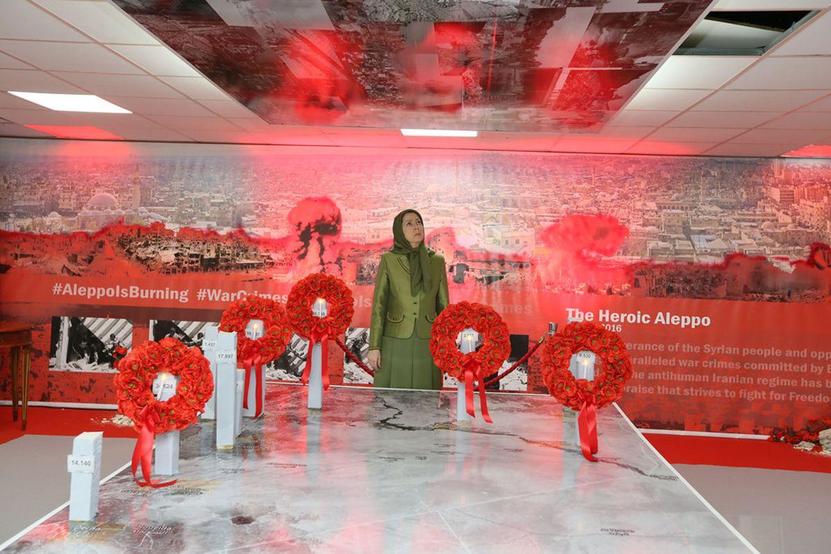 Une exposition su Alep l'héroïque rend hommage à la résistance du peuple syrien