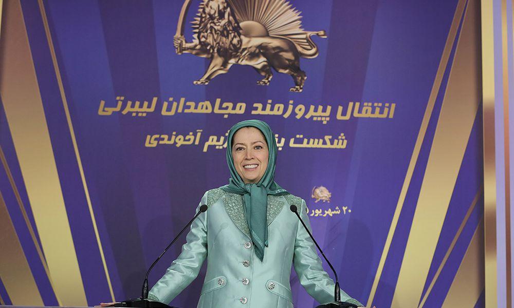 Maryam Radjavi :  Le transfert réussi des Moudjahidine de Liberty  est une grande défaite pour le ré