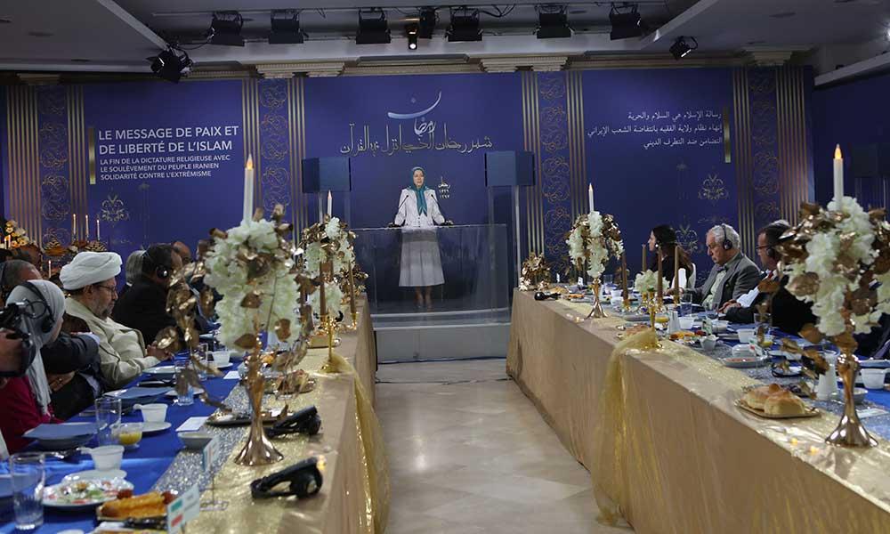 Le Ramadan en Iran dans le soulèvement contre la dictature religieuse