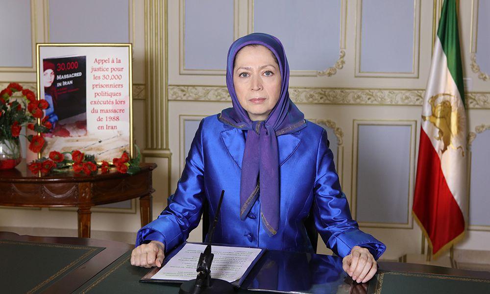 Message de Maryam Radjavi à la conférence à la Mairie de 2eme arrondissement de Paris