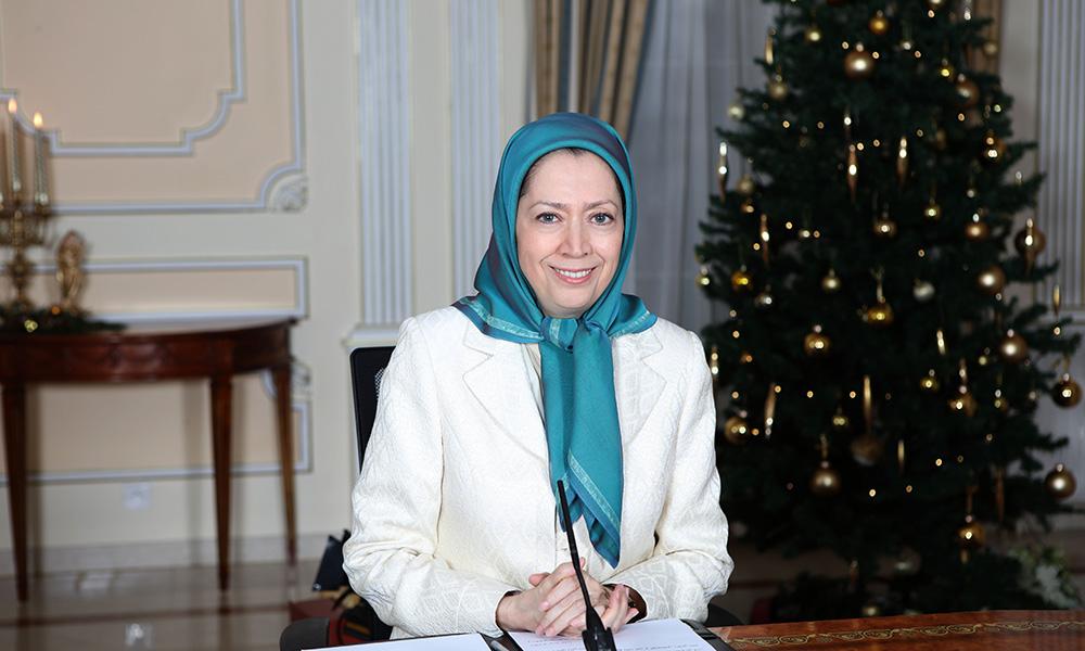 Vœux de fin d'année de Maryam Radjavi