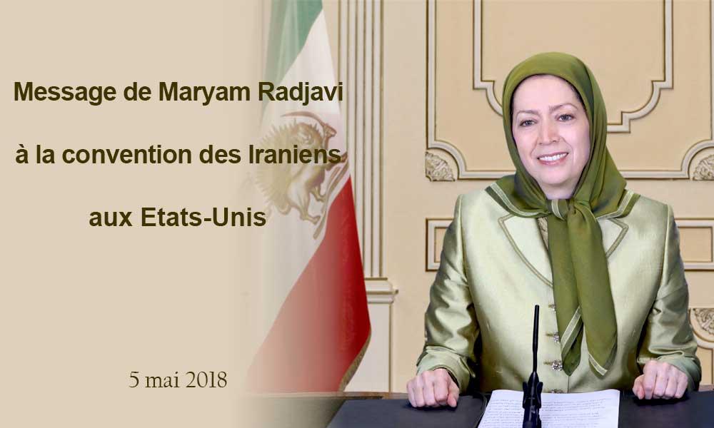 Message de Maryam Radjavi à la convention des Iraniens aux Etats-Unis