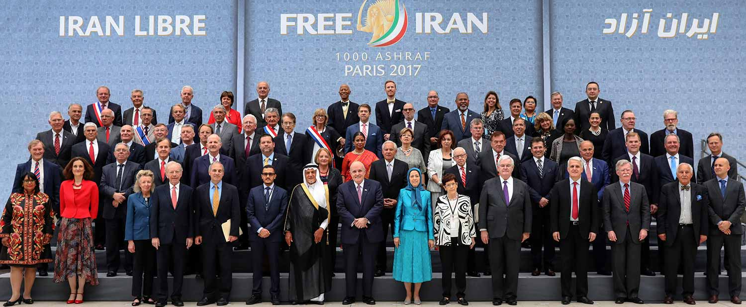 Maryam-Rajavi-with-distinguished-personalities-and-Iranian-Resistance-supporters-Free-Iran-Gathering-Villepinte-July-1-2017