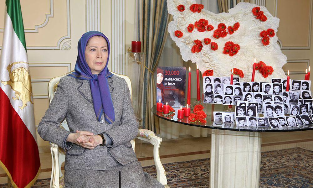 Maryam Radjavi: L'enregistrement de la rencontre de M. Montazeri avec les responsables des exécutions massives des prisonniers politiques