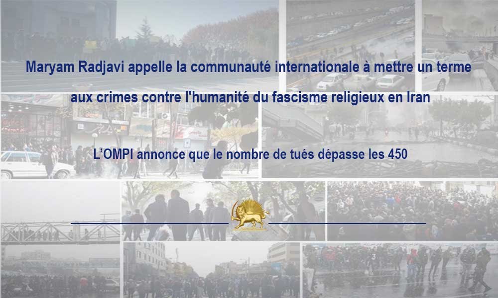Maryam Radjavi appelle la communauté internationale à mettre un terme aux crimes contre l'humanité d