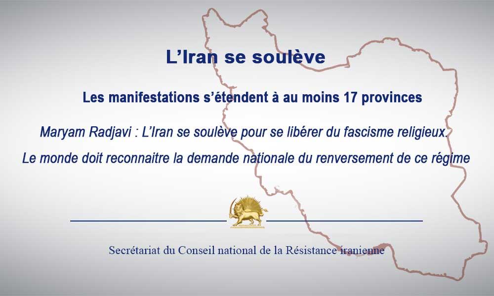 L'Iran se soulève