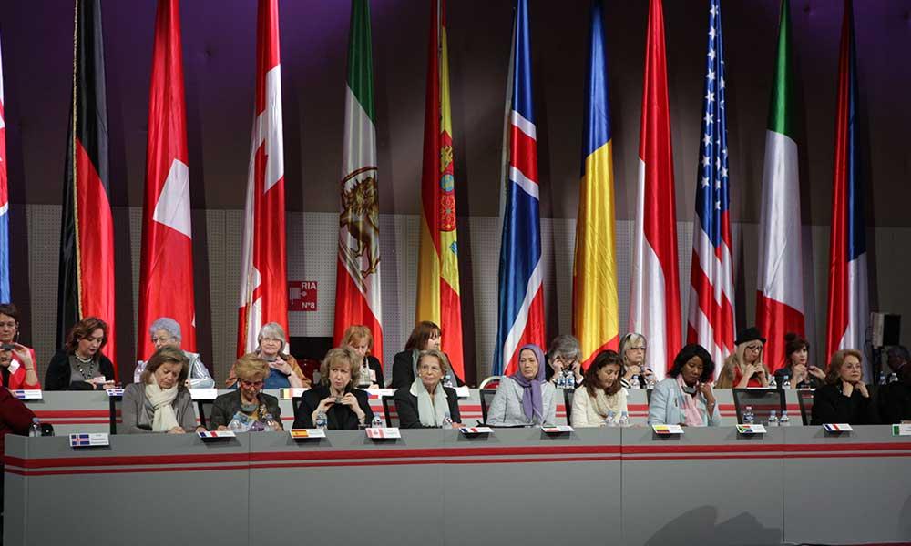 Discours de Maryam Radjavi à la conférence internationale des femmes à Paris