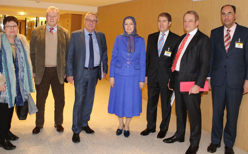 Maryam Radjavi à l'Assemblée nationale française – Bouleversements au Moyen‐Orient : quelle approche de la France et de l'Europe ?