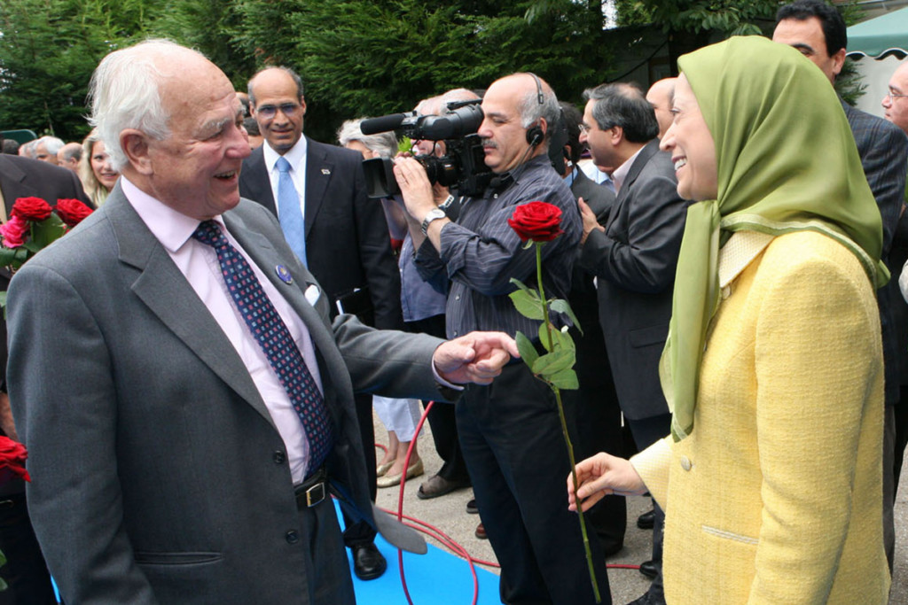 Maryam Radjavi salue la mémoire de Lord Waddington, la voix respectable de la justice