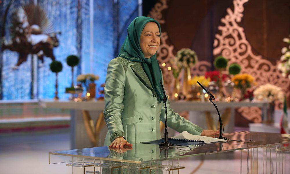 Ce Norouz annonce la fin du guide suprême et le printemps de la liberté en Iran- Discours de Maryam Radjavi pour Norouz au rassemblement de l'OMPI