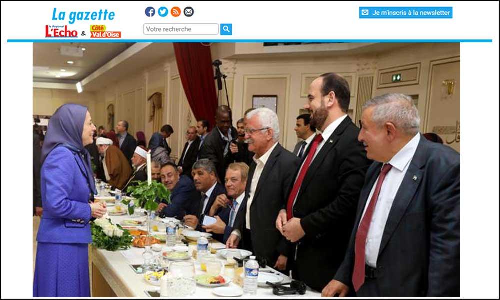 La Résistance iranienne reçoit l'opposition syrienne