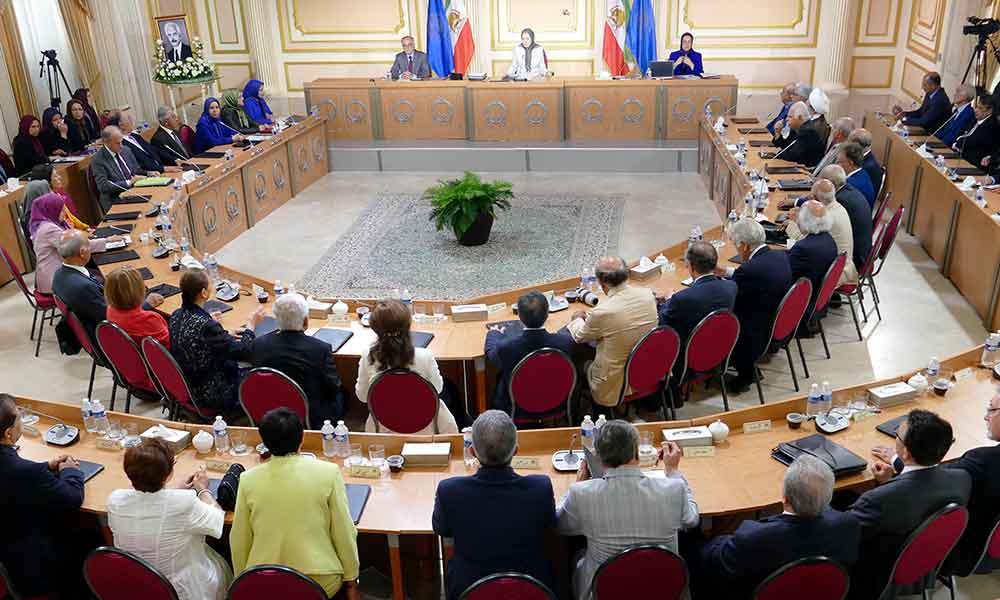 Session intermédiaire du Conseil national de la Résistance iranienne