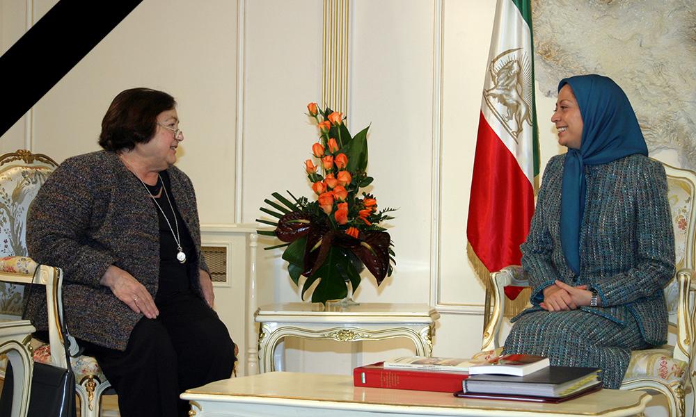 Maryam Radjavi : Françoise Héritier une femme remarquable et une grande amie de la Résistance iranienne