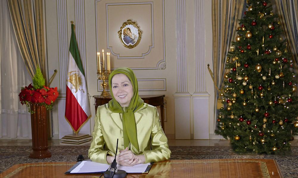 Vœux de Maryam Radjavi pour le Nouvel An
