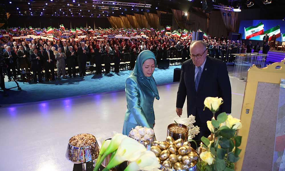 Maryam Radjavi : Accueillons le grand Norouz de la liberté
