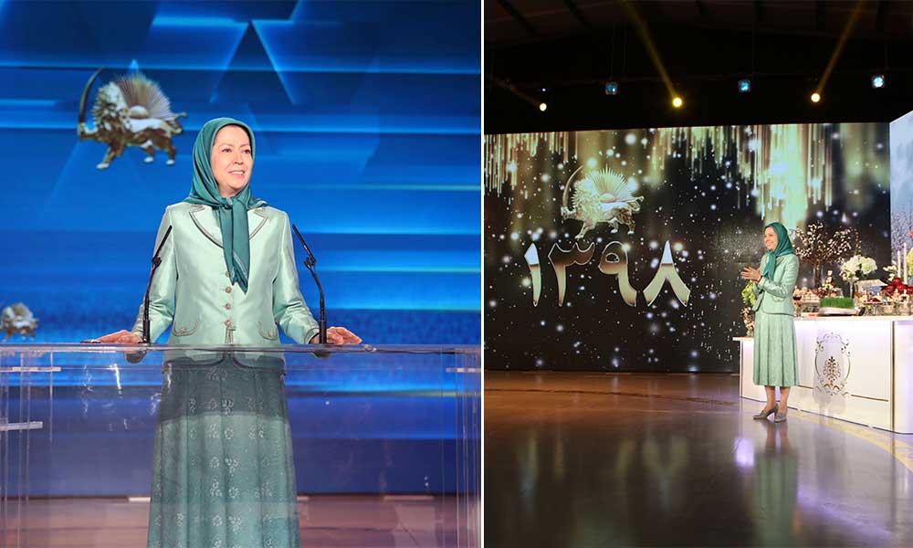 Un Norouz de révolution et de liberté en Iran- Discours de Maryam Radjavi pour la nouvelle année iranienne 1398
