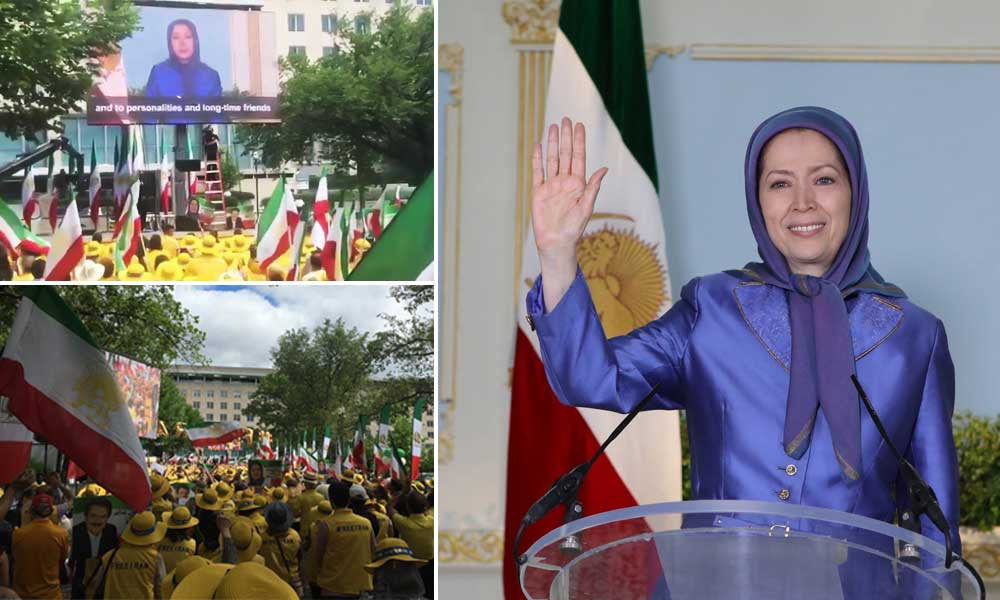 Maryam Radjavi : La nation iranienne entend vos chants et vos appels à la liberté