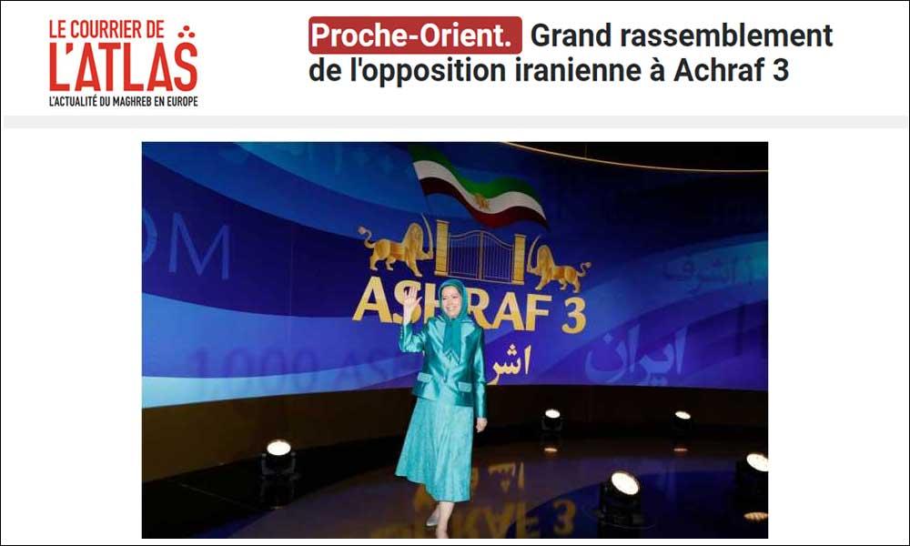 Grand rassemblement de l'opposition iranienne à Achraf 3
