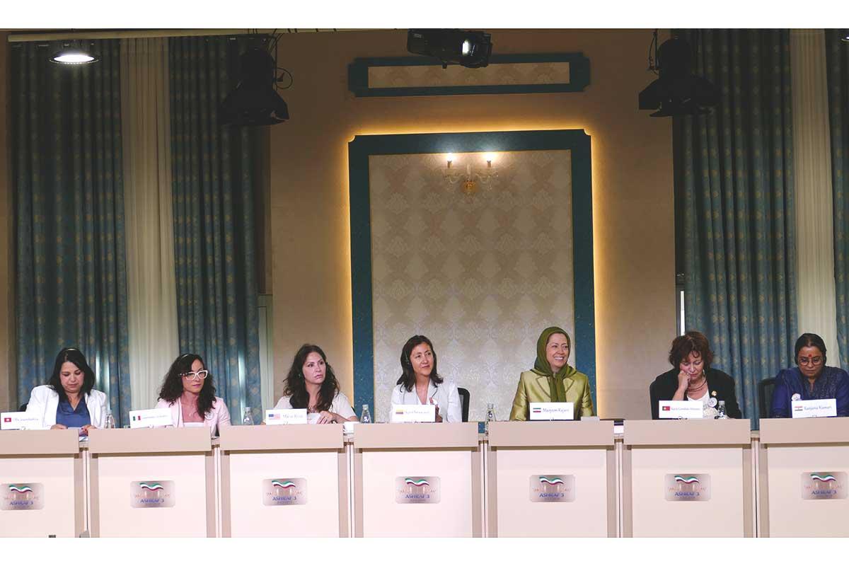 Maryam Radjavi : l'avancée des femmes de la Résistance vient d'une bataille contre les idées réactionnaires