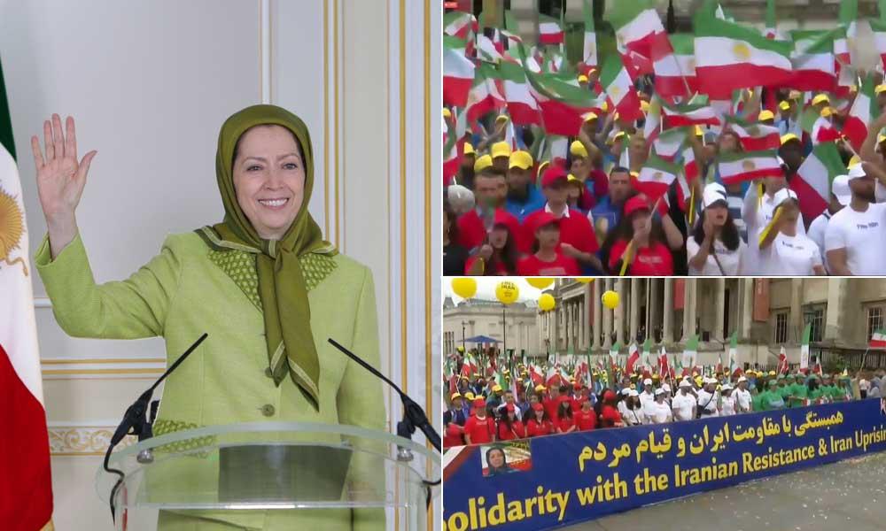 Maryam Radjavi: Nous appelons la Grande-Bretagne et l'Europe à se tenir aux côtés du peuple iranien pour un changement de régime