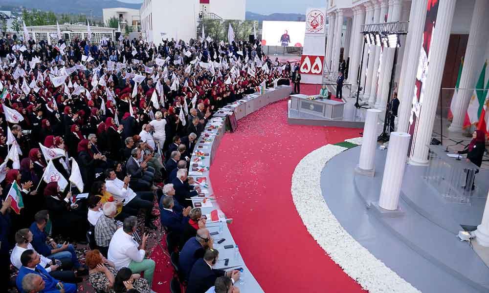 Extraits du discours de Maryam Radjavi à l'occasion de l'anniversaire de la fondation de l'Organisation des Moudjahidine du peuple d'Iran à Achraf-3