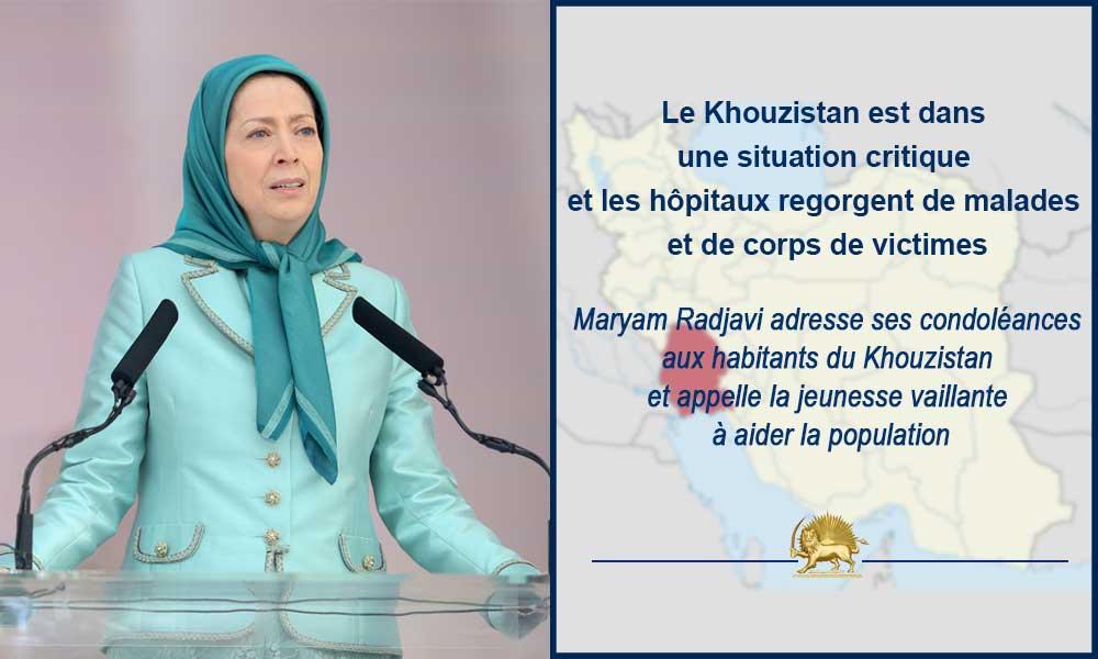 Le Khouzistan est dans une situation critique et les hôpitaux regorgent de malades et de corps de victimes