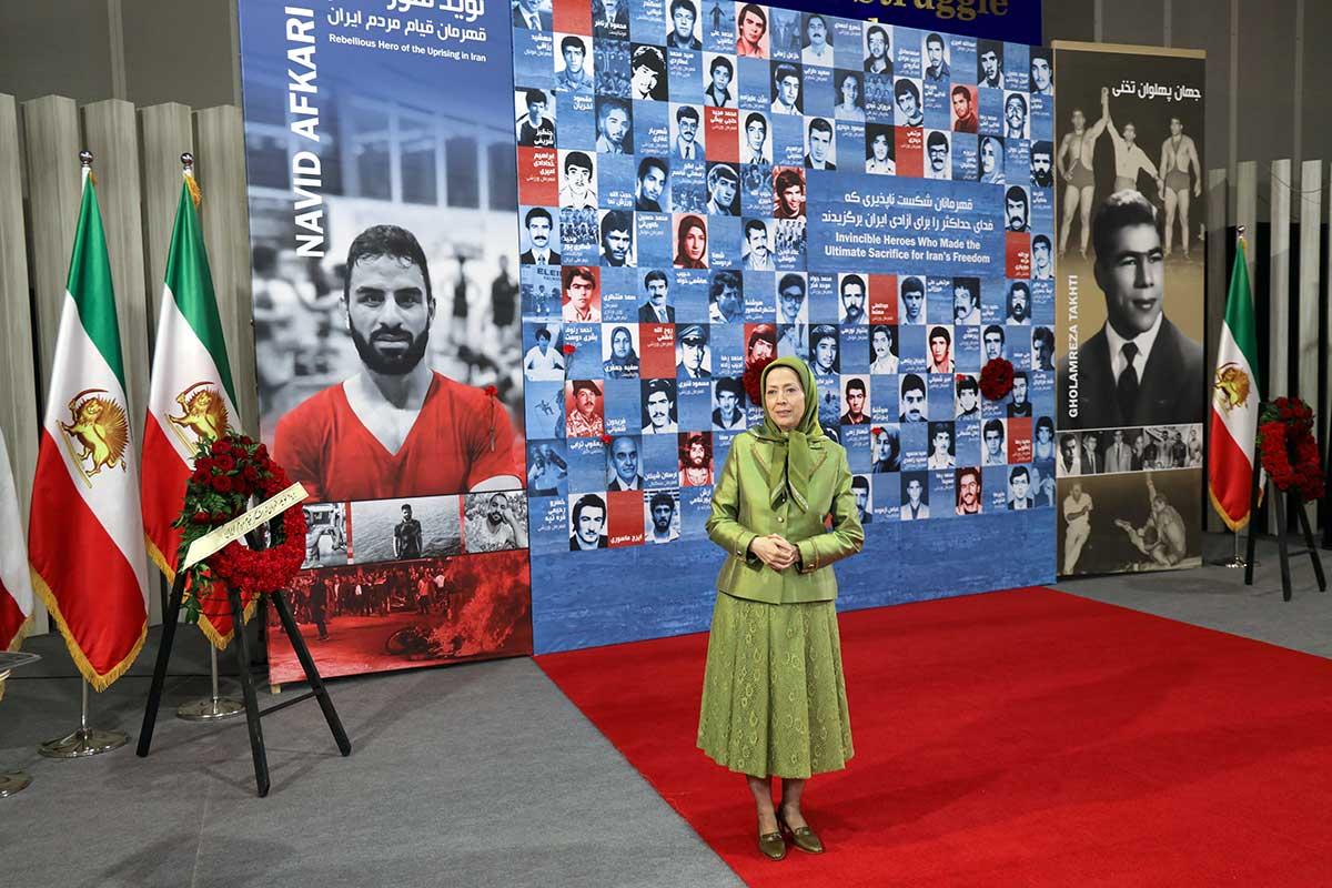 Maryam Radjavi : les droits humains pour le peuple iranien des sanctions générales pour la dictature religieuse et la reconnaissance de la Résistance du peuple iranien et de l'insurrection pour la liberté