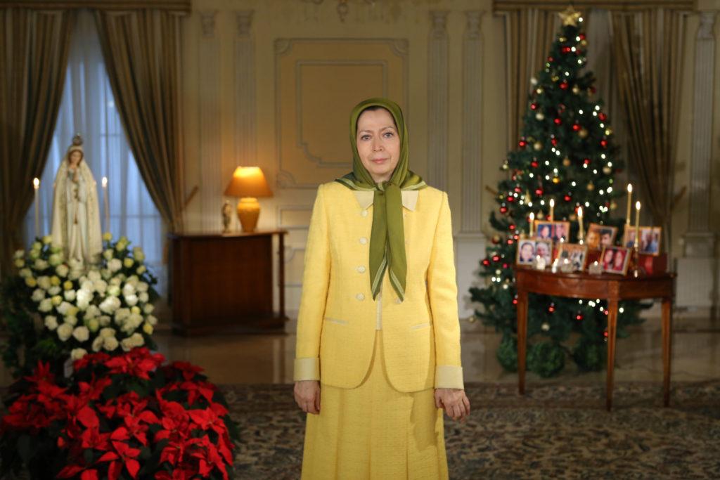 Message de Maryam Radjavi Noël et Nouvel an- 2014