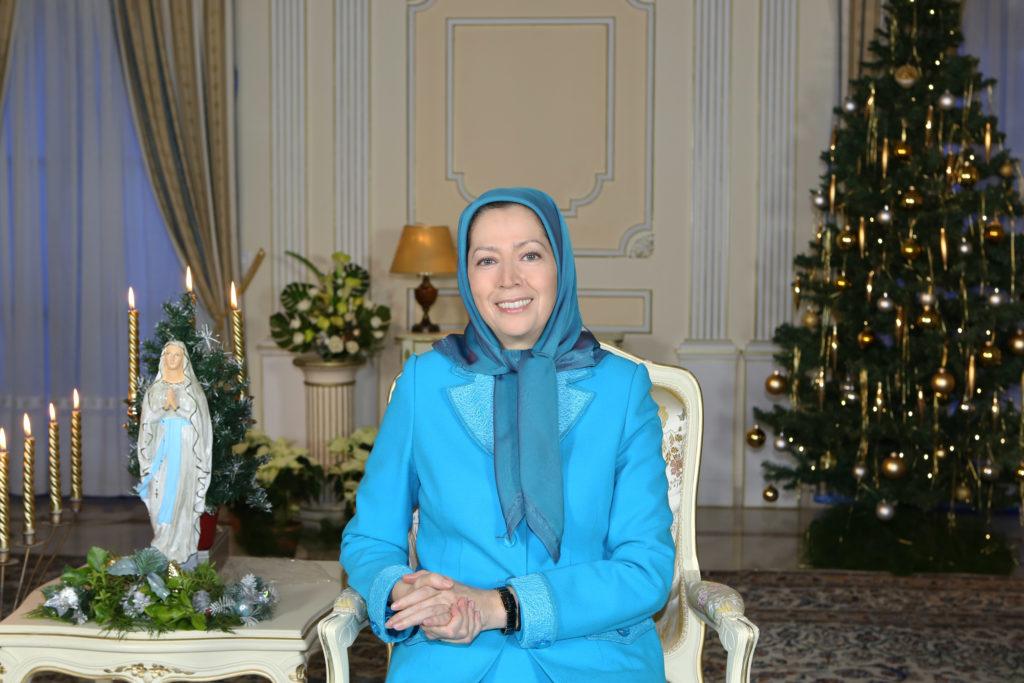 Message de Maryam Radjavi pour le Noël et le Nouvel An 2015