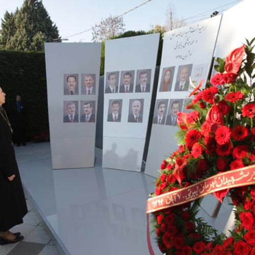 Maryam Rajavi- Commemoration of Martyrs of 29 October at camp Liberty- 1 November 2015