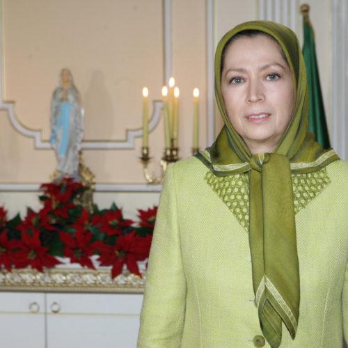 Vœux de Noël et de Nouvel An de Maryam Rajavi – 24 décembre 2016