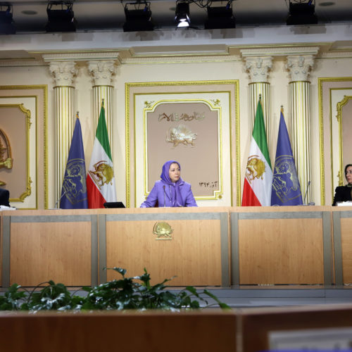 Maryam Rajavi in the Interim session of the National Council of Resistance of Iran, December 19& 20, 2015