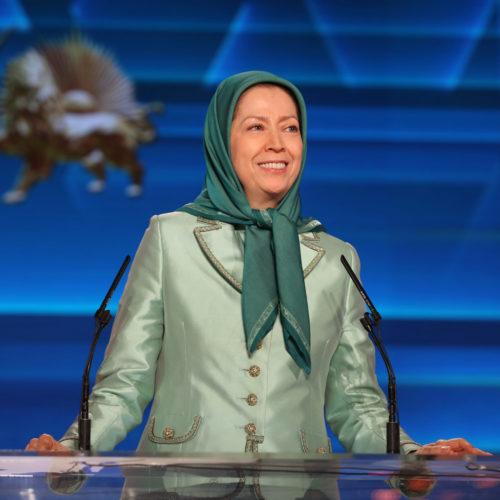 Maryam Radjavi dans le rassemblement du Nouvel An iranien- 20 mars 2019
