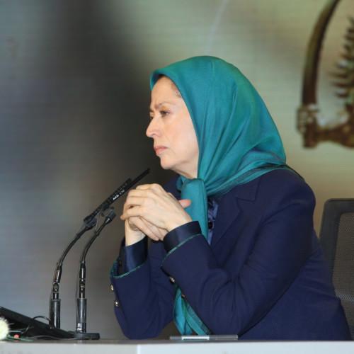 Maryam Radjavi à la cérémonie funèbre de Mohammad Seyedi-Kachani, membre de l'OMPI depuis sa fondation – Le 20 décembre 2018