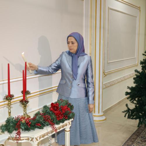 Message de vœux de fin d'année de Maryam Radjavi- Décembre 2019