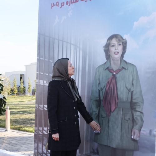 Cérémonie d'hommage à Marjan, artiste bien-aimée du peuple iranien – Achraf3 – juin 2020