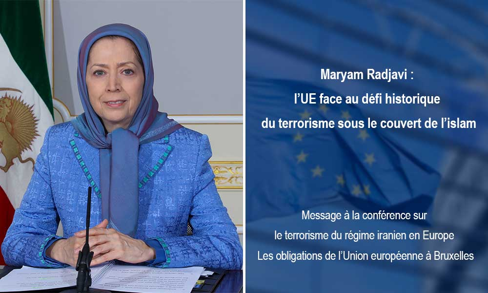 Maryam Radjavi : l'UE face au défi historique du terrorisme sous le couvert de l'islam