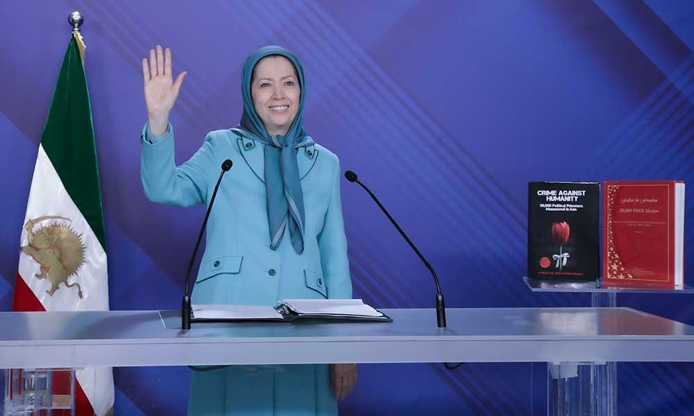 Maryam Radjavi : Non aux exécutions, non à la dictature religieuse en Iran